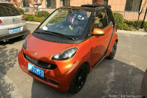 fortwo 11款 52kw mhd 敞篷 燃橙版