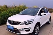 郑州二七区二手帝豪GS 2016款 运动版 1.3T 6DCT 领尚型